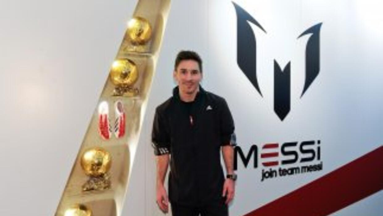 Messi habló durante la presentación de sus nuevas botas.
