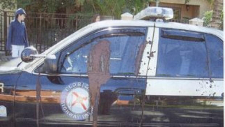 El vocero de FHP encontro su patrullera embarrada de heces fecales el sá...