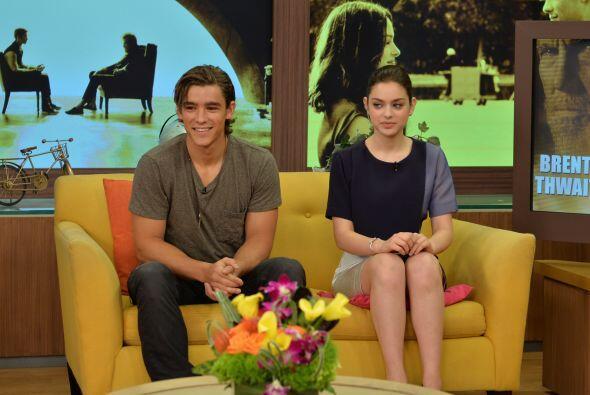 Esta fue su primera vez en un programa latino y confesaron que se divirt...
