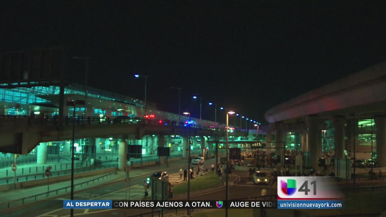 Se normalizan las operaciones en el aeropuerto JFK tras emergencia