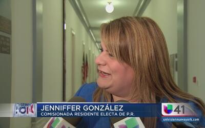"""""""Los republicanos están unidos con Paul Ryan"""": Jennifer González"""