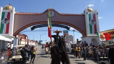 Ambiente del Desfile de La Villita