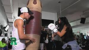 Nataliz noquea a Jonathan Oquendo