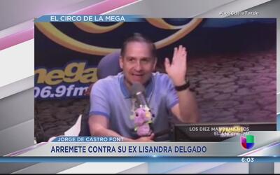 ¡Qué fuerte! Jorge de Castro Font arremete contra su ex