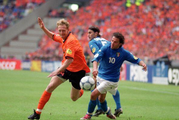 'Pinturicchio', como se le conocía a Del Piero al parecer que en...