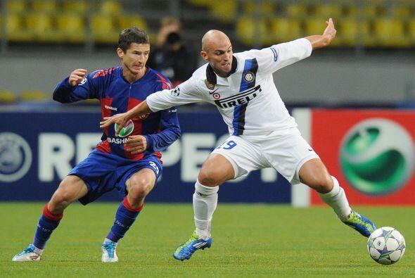 El Inter visitó al CSKA de Moscú en un duelo lleno de emoc...
