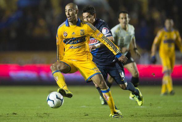 En la última liguilla que disputaron Tigres y América Pizarro anotó en e...