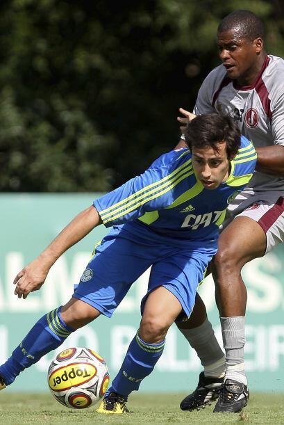 El chileno Valdivia, de buena trayectoria en Brasil, es figura del Palme...