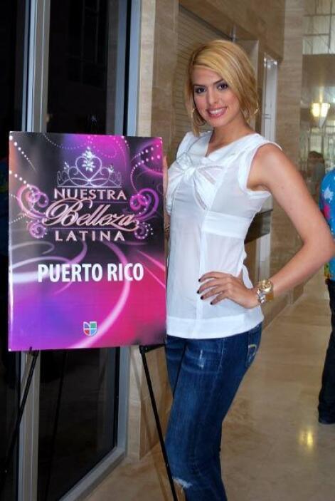 Mónica encontró un lugar en la TV de Puerto Rico en el programa Locas de...