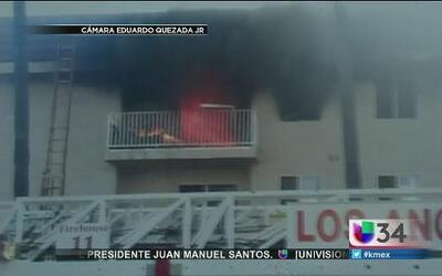 Incendio cobró nueva víctima en Los Ángeles