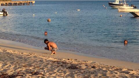 Playa Esperanza, en Vieques