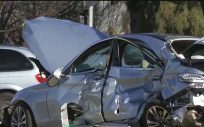 Mortal accidente entre un vehículo y un tren de Amtrak en Santa Clara