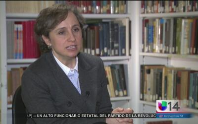 """Me parece una gran estupidez política"", afirma Carmen Aristegui sobre e..."
