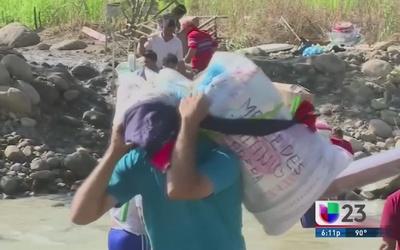 Peligro y extorción en la frontera Colombia-Venezuela