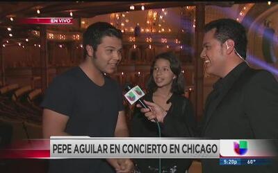 Pepe Aguilar en concierto en Chicago