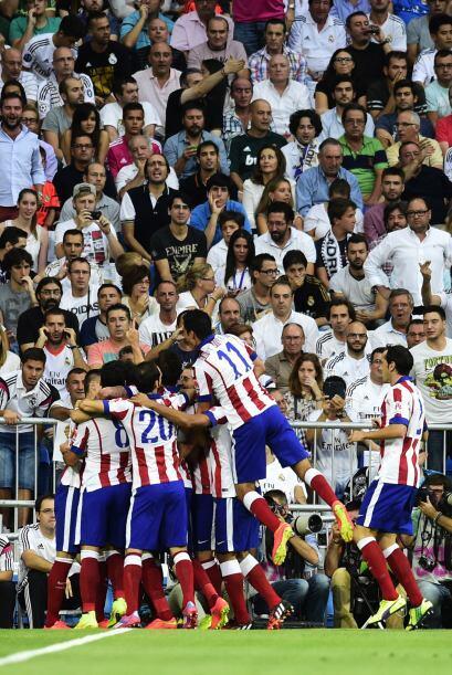 Explosión rojiblanca en el Bernabéu que su público veía incrédulo como o...