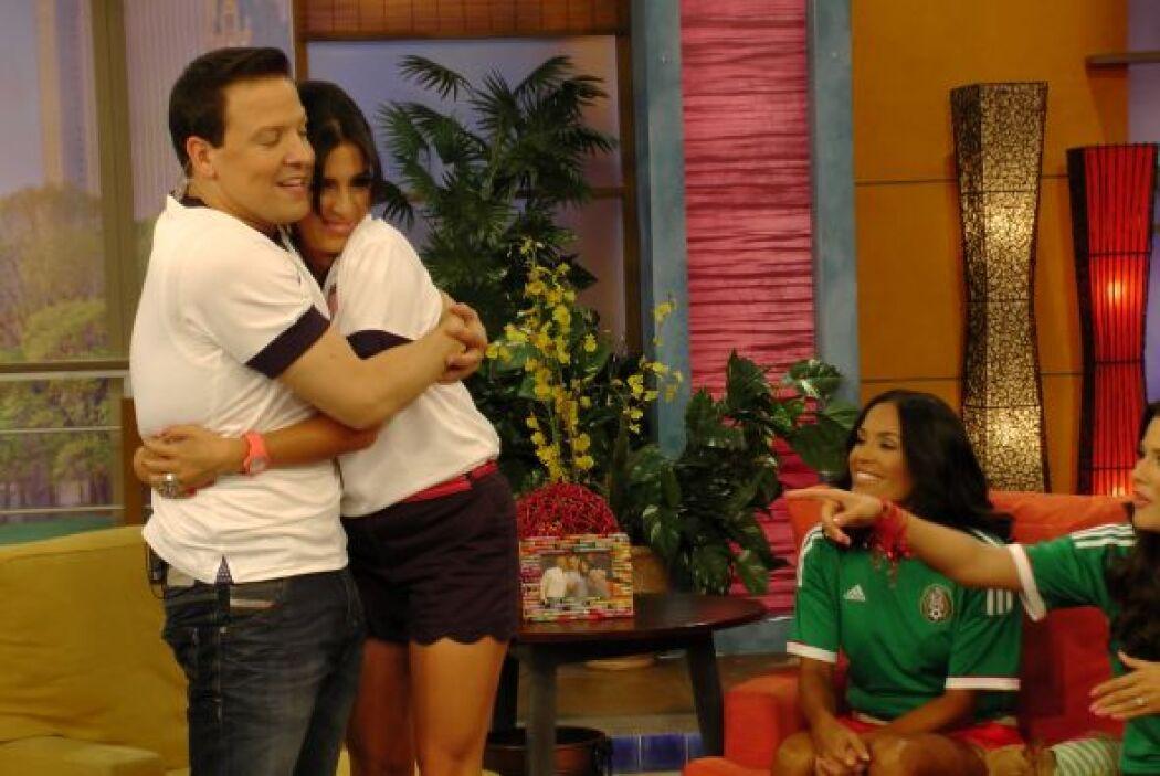 A Maity y Raúl los une ahora el compromiso de ser amigos por siempre.