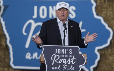 """Donald Trump: """"Desde el día uno comenzaré a remover a migrantes ilegales..."""
