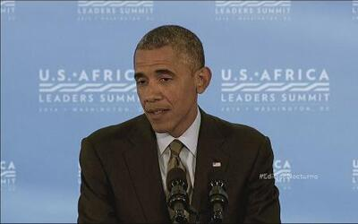 Obama prometió ayudar a llevar la paz a África
