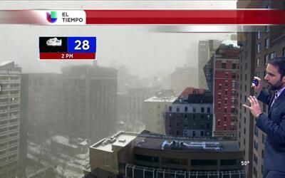El tiempo: nevada história en el noreste
