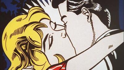 Artístico: Roy Lichtenstein, el Beso II