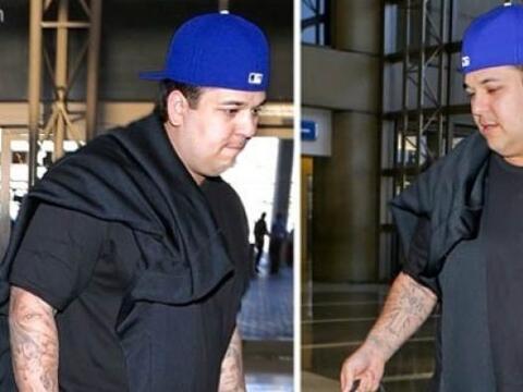 Así encontramos a Robert Kardashian llegando al aeropuerto de Par...