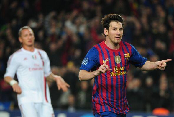 Messi alcanzaba 14 goles en el torneo, cifra que nadie alcanzaba en la e...