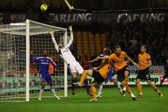Wolverhampton aún tuvo una ocasión para igualar, pero el p...