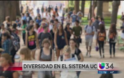 Universidad de California tendrá el alumnado más diverso de su historia