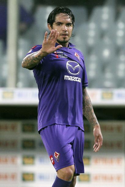 El peruano Juan Vargas, futbolista de la Fiorentina de Italia, podría es...