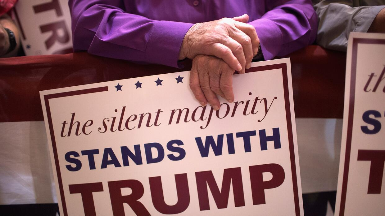 La opción de Trump parece tener cada vez más piso electoral