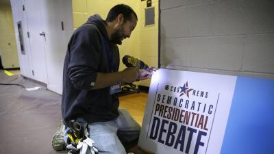 Preparativos para debates en Iowa
