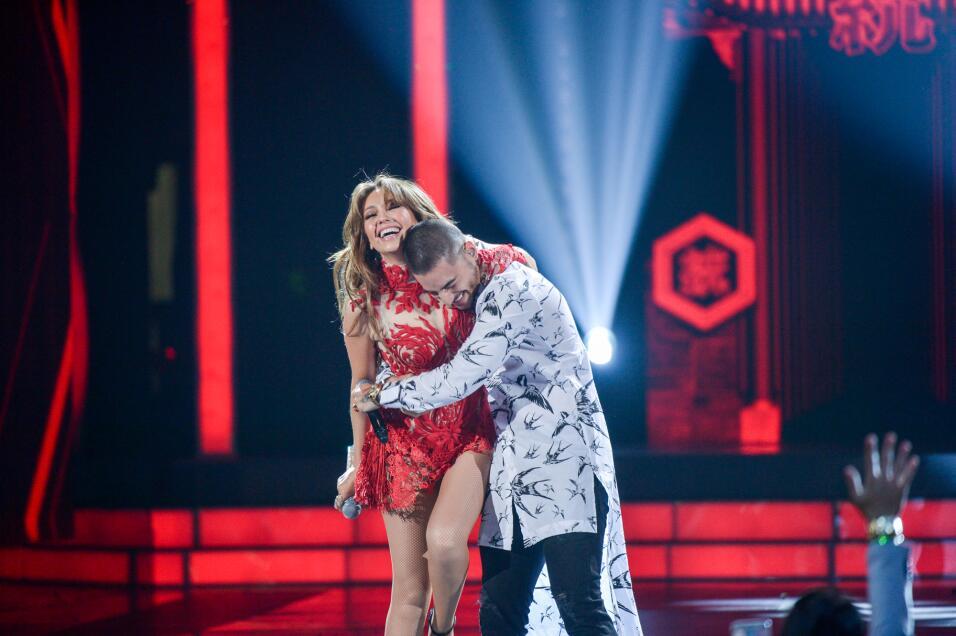 Thalía y Maluma