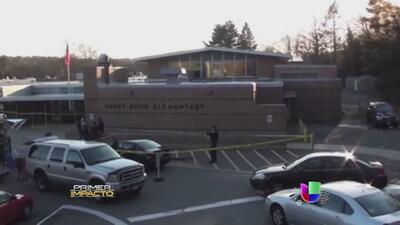 Nuevas imágenes de la masacre en la escuela Sandy Hook