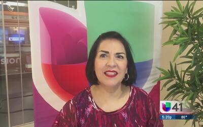Recepcionista de Univision 41 dice adiós tras 27 años de servicio