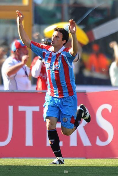Categórico 4-0 con el que el Catania sumó tres puntos.