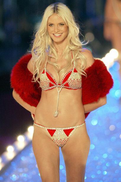 Heidi Klum ha sido el único angelito elegido tres veces para port...