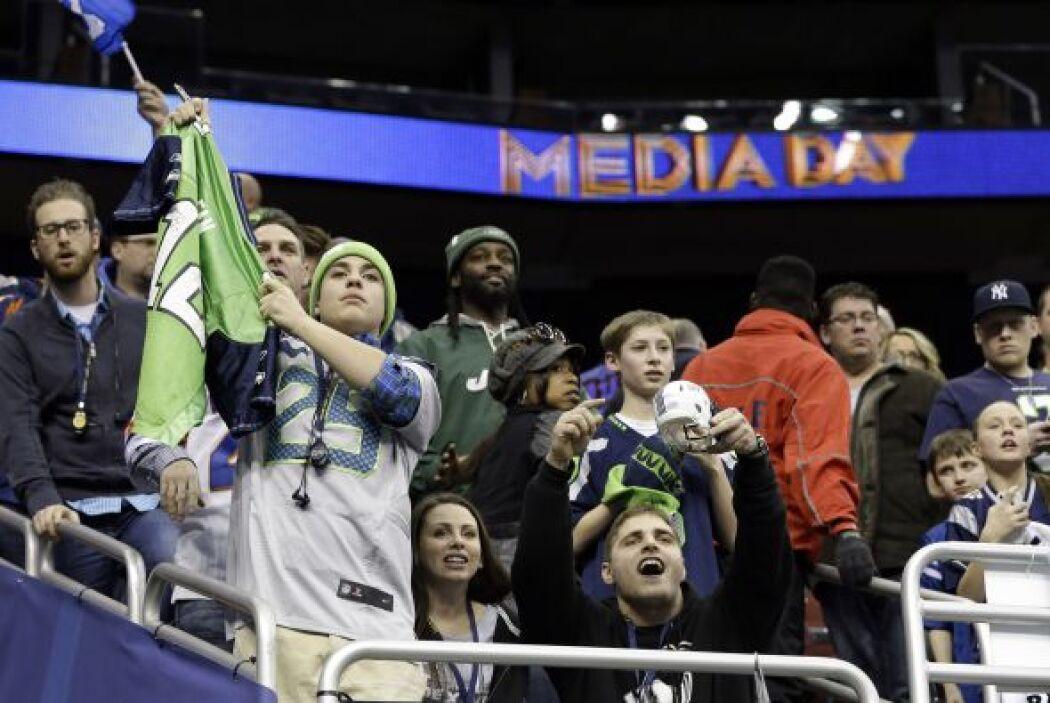 Los fans ya están más que listos para el Super Bowl (AP-NFL).