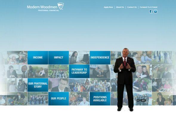 12. Modern Woodmen of America  Sector de la industria: Servicios financi...