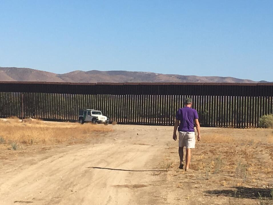 Muro de Donald Trump California