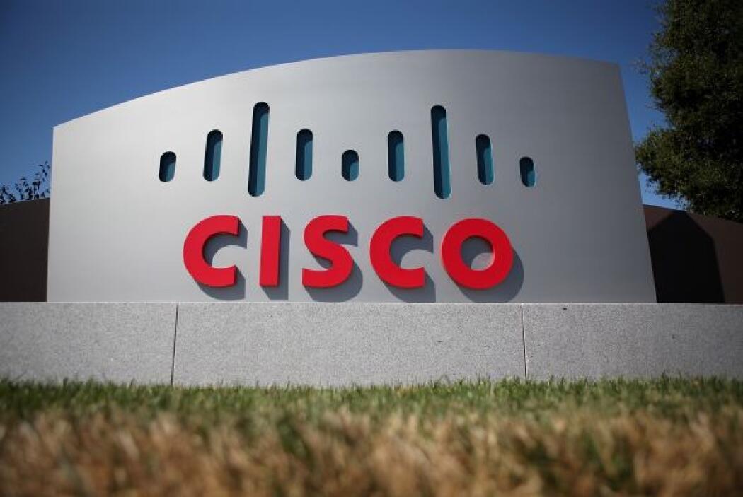 10. Dedicada a la tecnología de la información, Cisco, con sus 72,360 em...