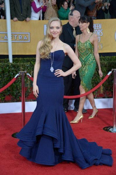 El vestido de Amanda Seyfried esta vez no la hizo lucir insípida,...