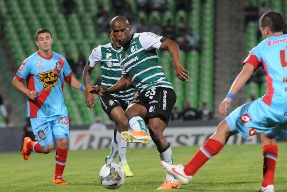 El uruguayo Ribair Rodríguez poco a poco se afianza en la titularidad de...