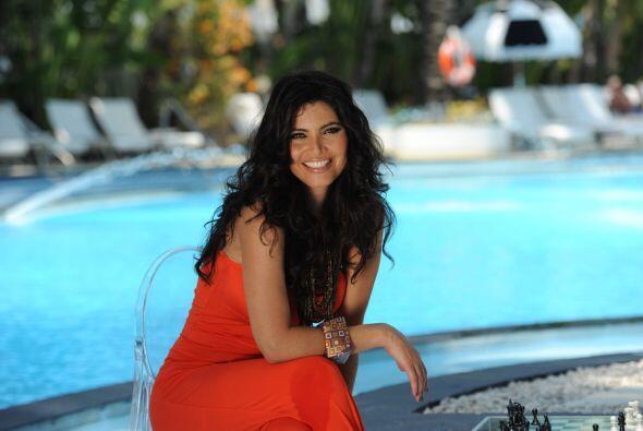 Con maquillaje o peinado casual, Chiquinquirá Delgado es bella entre las...