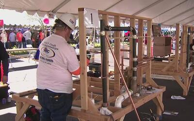 Campeonato de plomeros y electricistas en Anaheim