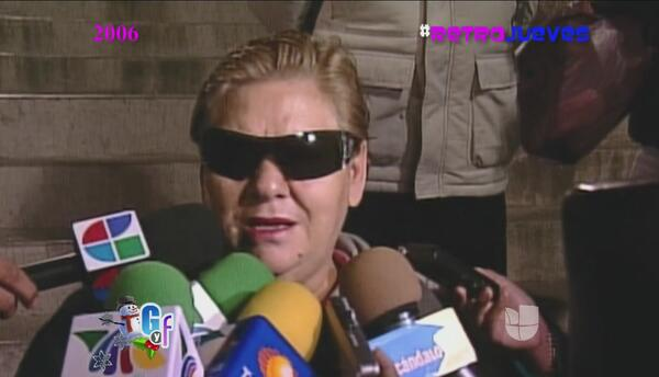 Retrojueves, recordamos la bronca legal de Paquita la del Barrio en el 2006