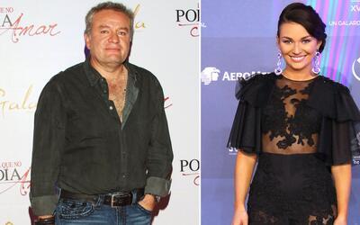 José Alberto Castro e Irina Baeva.