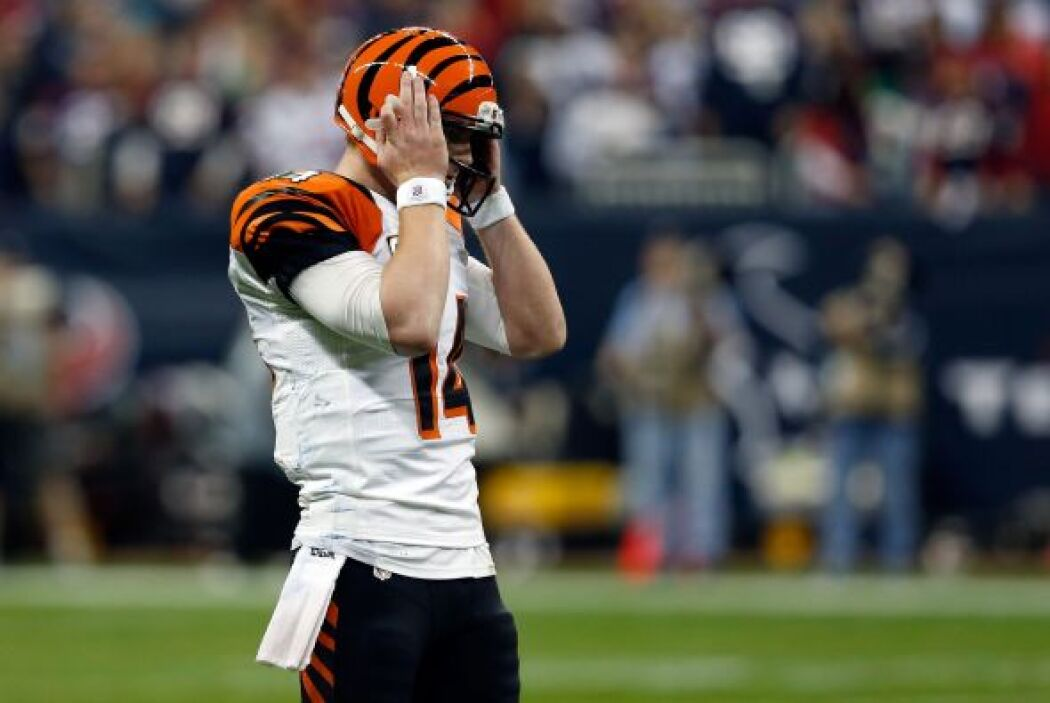 Bengals ya no pudo anotarle a los Texans y se quedaron fuera de competic...