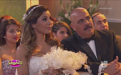 ¡Que vivan los novios! Aleida Núñez contrajo matrimonio