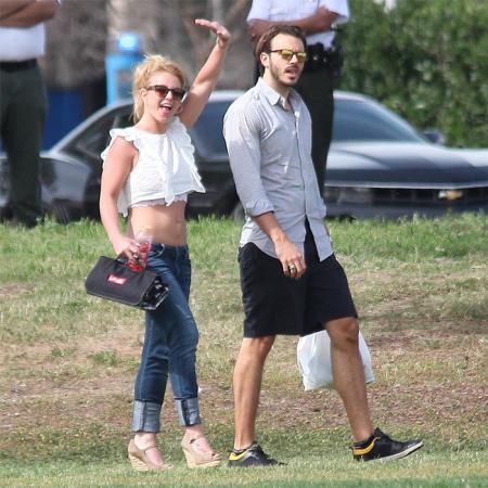 Britney Spears y Charlie Ebersol antes de su ruptura